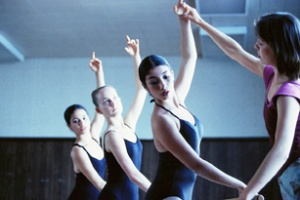 Instructor Leading Ballet Class