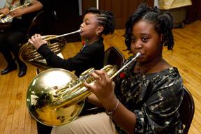 Girl Trumpet